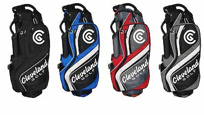 CLEVELAND CG CART GOLF BAG MENS - NEW 2019 -14 WAY TOP w/ 8 POCKETS- PICK COLOR