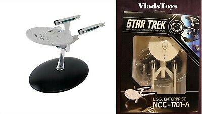 Eaglemoss Star Trek Best Of New Box USS Enterprise NCC-1701-A Captain Kirk #12