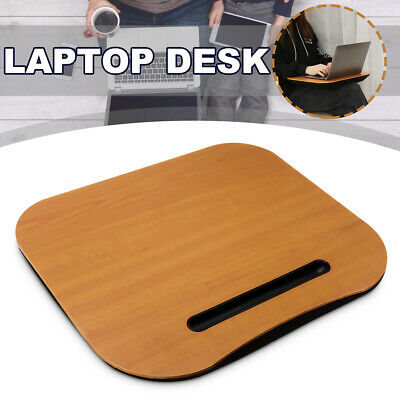 AU Adjustable Portable Handle Laptop Desk Computer Table Stand Tray For Bed Sofa