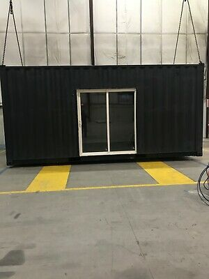 Luxury 20 foot new high cube shipping container home. Turnkey ready to go
