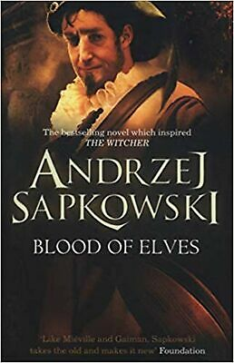 Blood of Elves (The Witcher) Paperback Book NEW