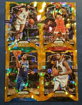 2019-20 Prizm Basketball Orange Ice Cracked Parallel Refractors Pick Your Card