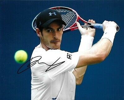 Andy Murray Signed 10x8 Photo AFTAL