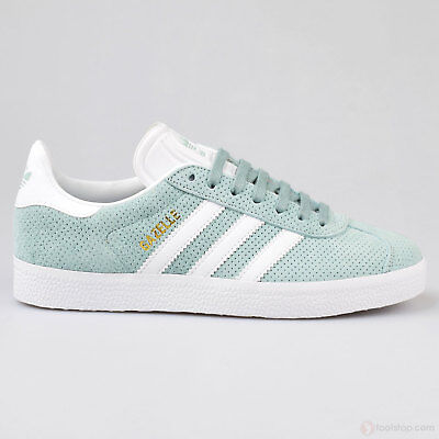 Details about Women's adidas Gazelle W BY9360 Tan White Gold sz 9.5 US Awesome Sneaker NEW