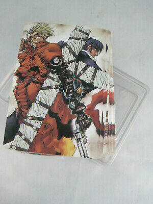 Trigun Official Anime /& Manga Playing Cards