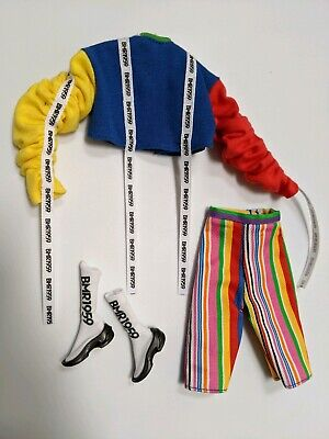 2019 Barbie Doll BMR1959 Rainbow Pride Fashion Outfit Only - Top, Pants, Shoes