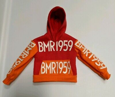 2019 Barbie BMR1959 Collection Ken Doll Fashion Outfit - Red Orange Hoodie Only