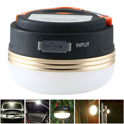 60//100W LED Camping Light USB Rechargeable Outdoor Tent Lantern Hiking Lamp J2K7