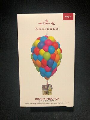 Hallmark Keepsake Up Pixar House Balloons 10Th Ann Magic Ornament 2019 Disney