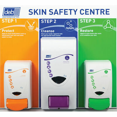 NEW! Deb 3 Step Skin Protection Centre SSCSM42EN
