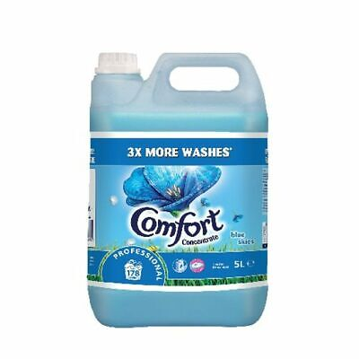 NEW! Comfort Professional Concentrated Fabric Softener Original 5L Pack of 2 750