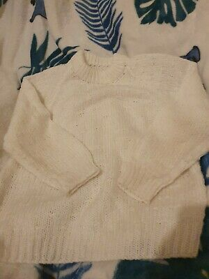 Lovely Unisex Knitted Jumper approx Age 3-4 Years