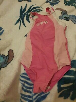 Lovely Girls Back to School Swimming Costume Age 3-4 Years