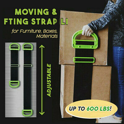 Adjustable Landle Moving And Lifting Straps for Furniture Boxes Mattress