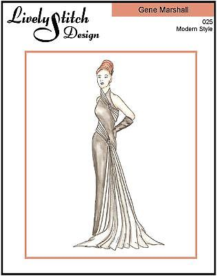 sewing pattern for the Gene Marshall doll by Ashton Drake Black Tie Affair