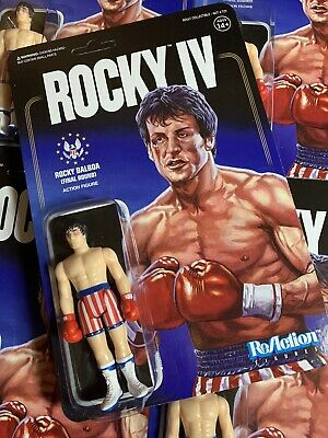 Rocky Balboa Final Round Bloody IV Super 7 ReAction Action Figure