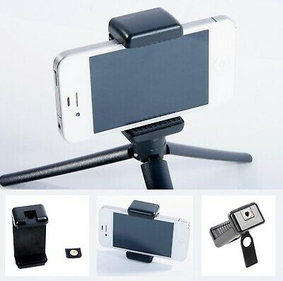 """Smartphone Bracket 1/4"""" Tripod Mount for Video Remote Work at Home iPhone Stand"""