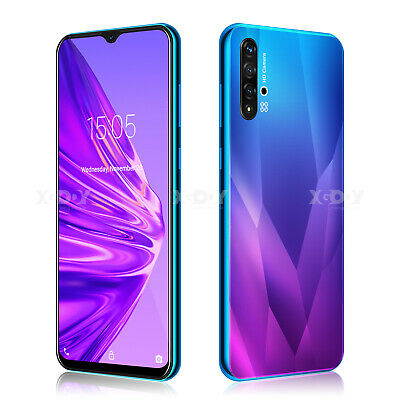 2020 New 6.6 inch Android 9.0 Unlocked Cell Phone Smartphone Quad Core Dual SIM