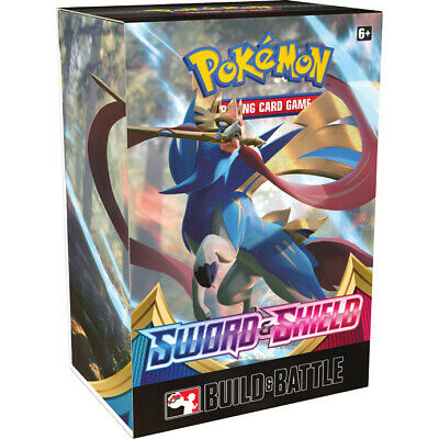 Pokemon TCG Sword and Shield Build & Battle Box Prerelease Kit S&S Sealed