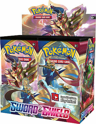 Pokemon TCG Sword and Shield Booster Box 36 Booster Packs S&S Sealed