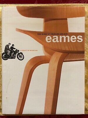 The work of Charles and Ray Eames 1997 A legacy of Invention Coffee Table Book