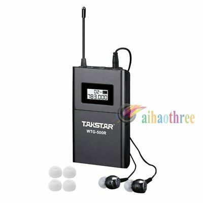 TAKSTAR WTG-500R Professional 100m Wireless System Tour Guide Teaching Receiver