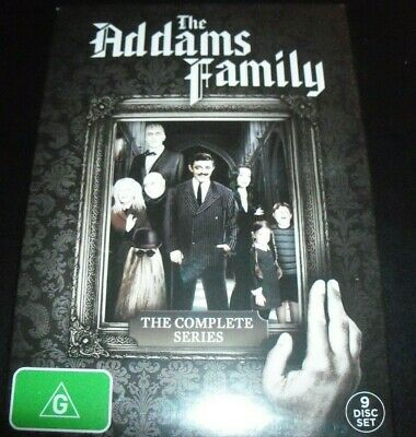The Addams Family (1964) The Complete Series (Australia Region 4) Boxset DVD NEW