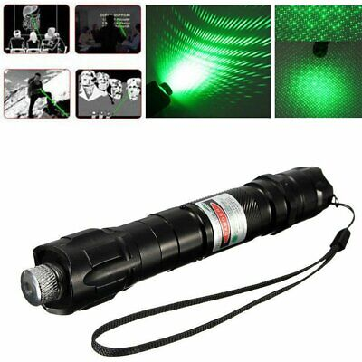 Military Powerful Green Laser Pointer Pen + 18650 Battery & Charger SALE!!!