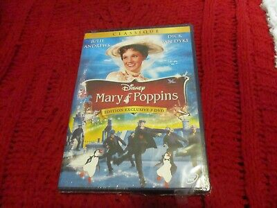 """COLLECTOR 2 DVD NF """"MARY POPPINS"""" Julie ANDREWS / Edition Francaise Disney N°21"""