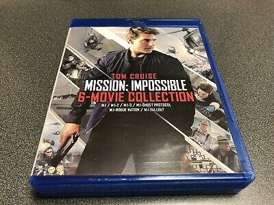 Mission: Impossible - 6 Movie Collection (Blu-ray, 2018, No Digital, No Slip)