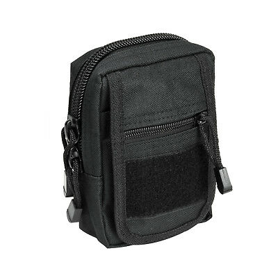VISM CVSUP2934B BLACK Accessory Tactical Modular MOLLE Small Utility Pouch