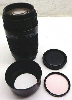 Quantaray 75-300mm f/4-5.6 MX AF Tech-10 Minolta A Mount Lens w/ Hood FREE SHIP!