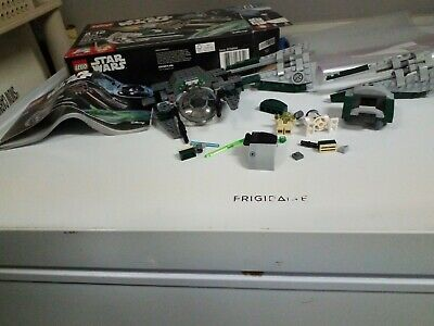 Star Wars Lego 75168 Yoda Star Fighter Pre Owned Incomplete