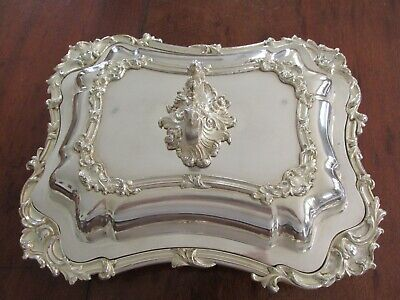 Quality Vintage French ?? Silver Plate Silver Plated Tureen