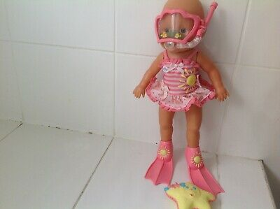 Baby Born Magic Bubbles Swimmer Baby Doll