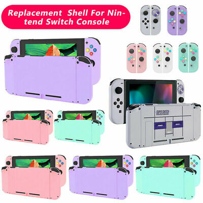 Replacement Shell Back Cover DIY Joy-Con With Buttons For Switch NS NX Console