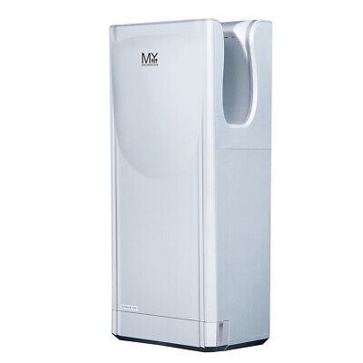 Jet Hand Dryer Commercial High Speed Brush Wall Mouted/2Pcs