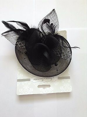 Jessica Sofia Fascinators Black