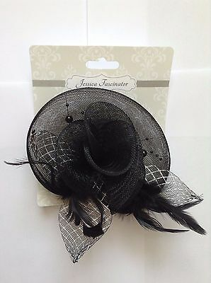 Feather Bead Corsage Hair Clips Fascinator Hairband and Pin