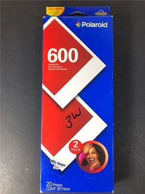 Polaroid 20 Photos 2 Pack Expired 600 Instant Film Exp 01/2006 Unopened