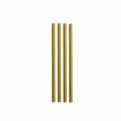 [1000pz] Straws Disposable Gold 8 5/16in Straws Gold Christmas