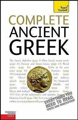 Complete Ancient Greek: A Teach Yourself Guide (Teach Yourself (McGraw-Hill) o1