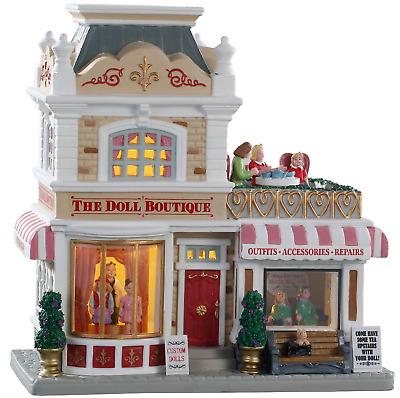 NEW 2019 Lemax Exclusive Doll Boutique Building Christmas Village $75