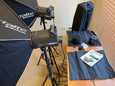 MUST SELL Elinchrom BRX 500 Portable Professional Lighting System - AS NEW