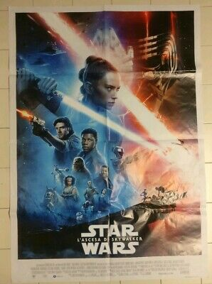 STAR WARS: L'ASCESA DI SKYWALKER Manifesto Film100x140 Poster Originale Cinema