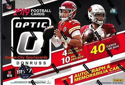 2019 Panini Donruss Optic Football Factory Sealed Collector Box