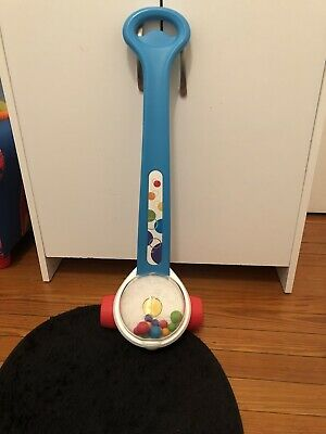 Fisher-Price Updated Classic Corn Popper Push Toy Brilliant Basics Learn To Walk