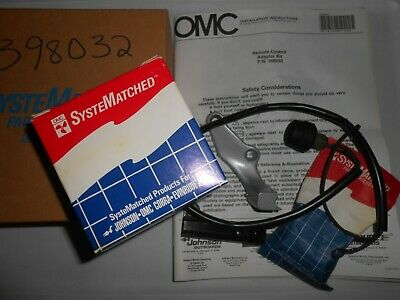 NEW  OMC  EVINRUDE JOHNSON REMOTE START KIT 398032