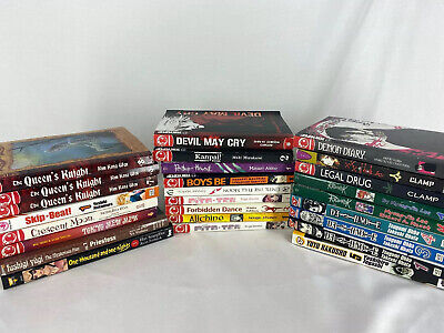 Mixed Manga Lot of 26 Mixed Titles/Series As Pictured English