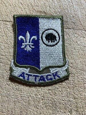 """Korea/1950s/1960s? US ARMY PATCH-92nd? INFANTRY DIV """"ATTACK"""" ORIGINAL BEAUTY!"""